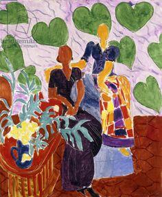 Matisse, Henri (1869-1954) Two Women, 1938 (oi on canvas)