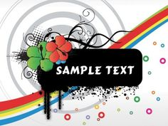 3 Floral Grunge Abstract Vector Backgrounds - http://www.dawnbrushes.com/3-floral-grunge-abstract-vector-backgrounds/