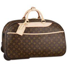 "Louis Vuitton "" Eole "" monogram 60 rolling duffle"