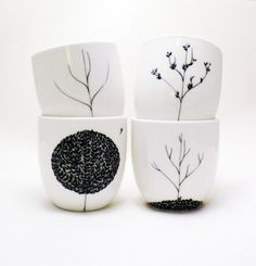 The Four Seasons Cup Set Now in BLACK
