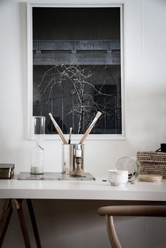 Cozy home in natural tints - via Coco Lapine Design
