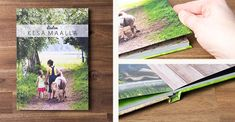 Premium-kuvakirja on kovakantinen ja liimasidottu Polaroid Film