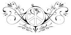 tatuaggio peace and love - Cerca con Google