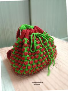 Crochet Bag For Baby : crochet baby strawberry backpark more backpacks for kids for carteras ...