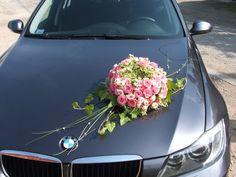 Car decoration Car Wedding, Blue Wedding, Wedding Events, Wedding Cakes, Wedding Dresses, Wedding Car Decorations, Flower Decorations, Bride Bouquets, Corsage