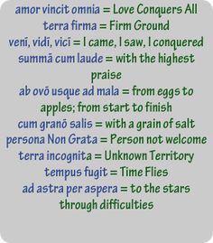 Latin phrases - - Yahoo Image Search Results                              …