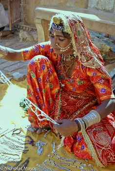 The Jewelry Seller, India; by Nick Mayo