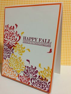 Cupcakes, Cards and Kim: ColourQ #215 and Simon Says Stamp Thanks/Thanksgiving