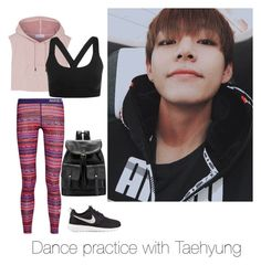 """Dance practice with Taehyung"" by bts-outfit-imagines on Polyvore featuring NIKE, adidas and Ivy Park"