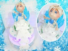 Bolo Decorado Frozen Party