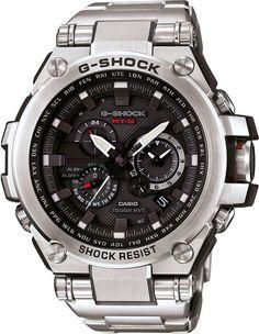 Casio G-Shock Premium Radio Controlled Solar Powered Watch MTG-S1000D-1AER - WatchO. See G Shock solar watches: http://www.watcho.co.uk/watches/casio/g-shock-watches/g-shock-tough-solar-watches.html