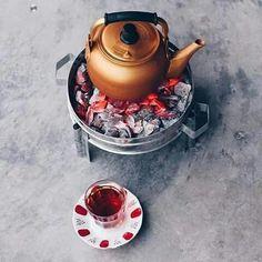 شاي عألفحم