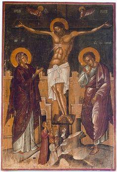 Peter Pan Art, Life Of Christ, Byzantine Icons, Ikon, Fresco, Religion, Santa, Painting, Jesus Christ