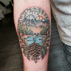 Image result for Simple Camping Tattoos