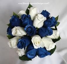 Bouquet idea (just needs a touch of silver)