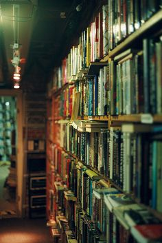"You have bookshelves. ""You can learn a lot about someone by looking at their bookshelves."" -The Millions Submit Your Shelf SYS in the Press SYS on. I Love Books, Books To Read, Old Libraries, Bookstores, World Of Books, Old Books, Vintage Books, Library Books, Reading Books"