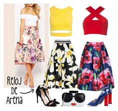 A fashion look from March 2016 featuring zipper shirt, strappy shirt and floral a line skirt. Browse and shop related looks. Outfit Cabello, Casual Outfits, Fashion Outfits, Womens Fashion, Camilla Elphick, Fashion Beauty, Fashion Looks, Midi Skirt, High Waisted Skirt