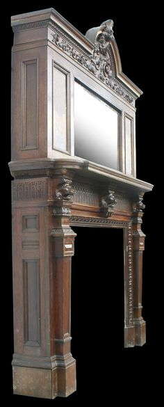 Fireplaces, Mirror, Furniture, Home Decor, Fireplace Set, Fire Places, Decoration Home, Room Decor, Mirrors
