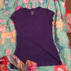 Workout top Grape colored workout top never worn. Champion Tops Tees - Short Sleeve