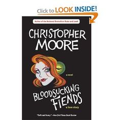 Christopher Moore is one of the few authors that literally make me lol. Can't beat a vampire love story that takes place in San Francisco and features Emperor Norton.
