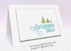 Christmas Bliss, Stampin' Up!, Brian King, TCC15