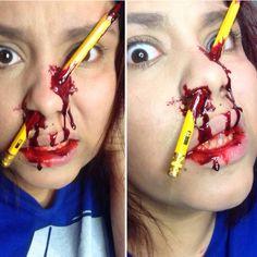 It's just special effects makeup! #halloweenmakeup