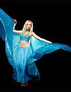 a93cd0c8a432b   9.99  Dança do Ventre Blusas Mulheres Treino Poliéster Lantejoulas Sutiã    Salão de Baile