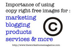 Why it is important to use copy right images safely or run risk of big trouble later. marking!