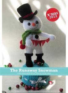 The Runaway Snowman Amigurumi