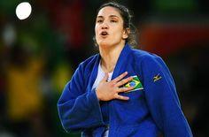 Judoca Mayra Aguiar derrota a cubana Yalennis Castillo e conquista medalha de bronze na Rio 2016