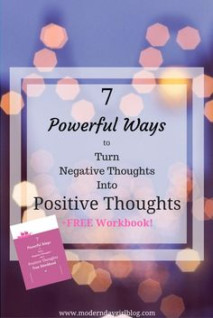 Positive thinking is a very powerful tool to help you, your anxiety and mental health. Learn more now + get your FREE workbook! What Is Anxiety, Anxiety Tips, Anxiety Help, Stress And Anxiety, Anti Stress, Negative Thoughts, Positive Thoughts, Positive Attitude, Guter Rat