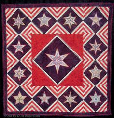 """Sarah Vedeler says: """"This quilt was made in honor of all who have served, all who are currently serving and all who will serve in the future."""