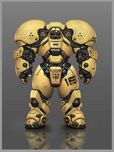 Robot Termit | Concept art - Characters