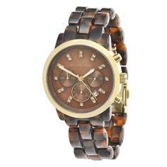 c7edf3bdc1b Michael Kors Women s MK5216 Chronograph Tortoise Watch -  http   www.specialdaysgift.