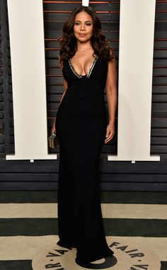Sanaa Lathan from Vanity Fair Oscars Party 2016: What the Stars Wore | E! Online