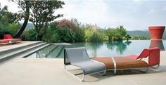 Contemporary Outdoor Furniture Design, Tandem Series by Clima Outdoor Design - Low Table