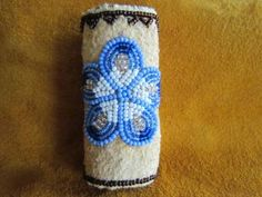 Beaded Lighter Case Cover by AlaskaBeadwork for $20.00