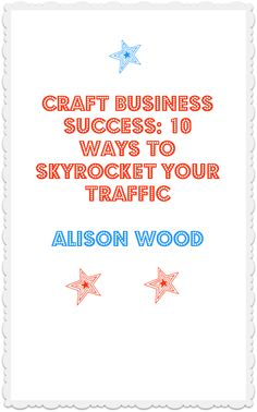 If you run a handmade business then you may want to check out my free report on driving traffic to your website or marketplace store. You can read online or download a pdf, whichever is easier for you