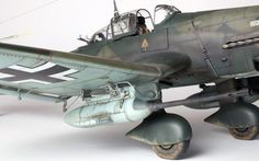 My latest build is a commission job and my client supplied me with the EagleCals decal sheet EC#97 containing the markings for Hans-Ulrich Rudel's last Stuka. He requested that I build the pl…