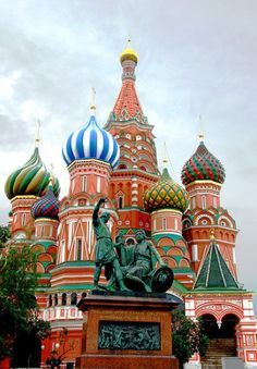 St. Basil's Cathedral. (Russia)