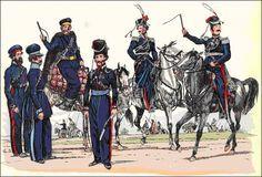 Russian Don Cossacks in spring 1813 (http://www.edition-bluecherbrief.de/beitrag/gef_lueneburg.php#)