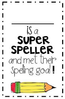 Super Speller Award!