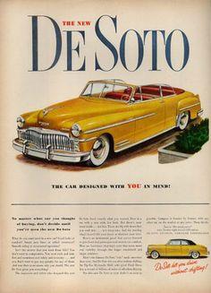 1949 De Soto New Convertible