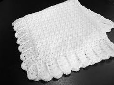 Billedresultat for free crochet patterns for christening blankets