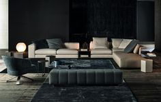 Minotti and Dordoni; a company and its designer
