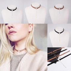 2016 Fashion Womens Suede Leather Circle Tattoo Choker Necklace Chain Pendant Charms Jewelry From Happytraveltime, $4.13 | Dhgate.Com