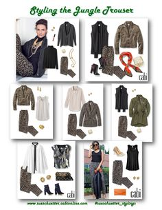 How to Style Cabi's Jungle Trouser F17. See more at sueschuetter.cabionline.com.