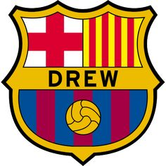 Soccer fc barcelona birthday invitation card by ticketsplanet