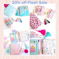 For 24 hours only, all items in my shop are 20% off!  All tassels, pom poms, keychains, and bookmarks are on sale, no minimum purchase!  Use coupon code TGIF20 at check out.  Flash sale ends in 24 hours!