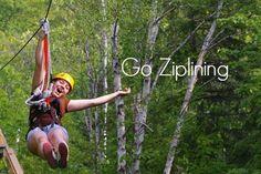 Bucket List || Go ziplining